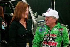"John Force on his longtime confidante Laurie: ""My wife loves me, but she doesn't like me."""