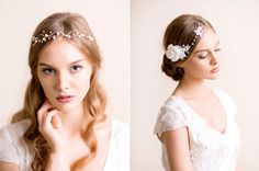 Florèntes - beautiful handmade floral headpieces for brides.