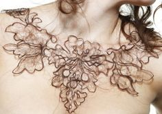 http://laughingsquid.com/wp-content/uploads/Kerry-Howley-hair-necklaces-550x388.jpg
