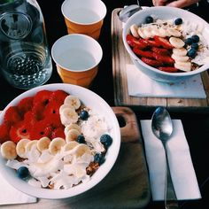 healthy breakfast ideas for picky eaters food truck near me location Healthy Food Tumblr, Tumblr Food, Healthy Snacks, Healthy Recipes, Healthy Eating, Healthy Habits, I Love Food, Good Food, Yummy Food