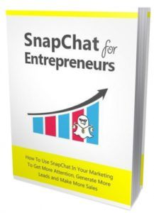 Snapchat For Entrepreneurs  Discover How To Use Snapchat In Your Marketing To Get More Attention Generate More Leads and Make More Sales! These Tips Will Help You To Improve Your Social Media Marketing And Show You How To Better Connect With Your Customers!  Snapchat is the big social network that too often gets overlooked. Bloggers and businesses now know the importance of social media marketing but their mistake is in thinking that this always means Facebook and Twitter.  Submitted: 22 Aug…