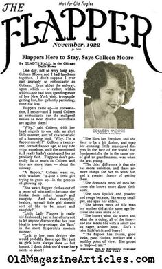 Interview with Colleen Moore from The Flapper Magazine, November 1922 Roaring Twenties, The Twenties, Twenties Party, Colleen Moore, 1920s Flapper, Flappers 1920s, Flapper Girls, The Great Gatsby, Jazz Age