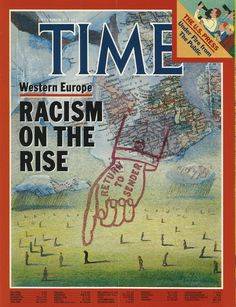 Cover by Eugene Mihaesco-subject matter still relevant to this day.