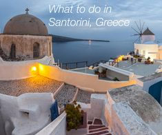 Santorini is the spot most people think of when they dream about the Greek Isles. Here's our list of the best things to do in Santorini including where to eat. Greece Vacation, Greece Travel, Greece Trip, Mykonos, Oia Santorini, Santorini House, Santorini Wedding, Vacation Destinations, Dream Vacations