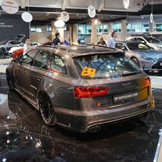 this mocha latte audi rs6 exclusive is both elegant and dramatic rh pinterest com