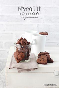 La tana del coniglio: Biscotti cioccolato e panna