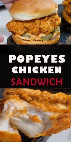 Homemade Fried Chicken, Chicken Strip Recipes, Spicy Chicken Sandwiches, Spicy Fried Chicken, Buttermilk Fried Chicken, Chicken Sandwich Recipes, Fried Chicken Recipes, Chicken Burger Patty Recipe, Thighs