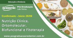 Confirmado! Pós EAD na área de Nutrição começa amanhã, 26/09 - Coordenado pela  Profª Nutricionista Fernanda Osso (Doutora em Fisiopatologia Clínica e Experimental), oferecido na modalidade EAD e dotado de 490 horas de duração, o curso é uma excelente opção para quem quer se aprimorar, mas não dispõe de tempo para se locomover até uma instituição de ensino. #NutriçãoEaD #nutrição #fitoterapia #ortomolecular #biofuncional #faculdaderedentor #Nutmed