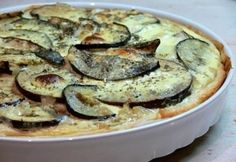 Padlizsános quiche | NOSALTY Quiche, Zucchini, Chicken, Vegetables, Breakfast, Food, Morning Coffee, Essen, Quiches