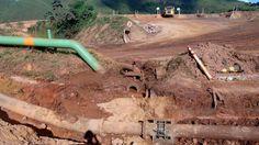 Duto da mineradora rompe no município de Congonhas (MG) e polui rios da região