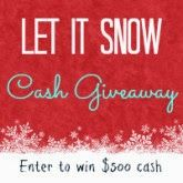 $750 Let It Snow Cash Giveaway [International Giveaway]