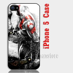 God Of War Kratos Custom iPhone 5 Case Cover
