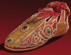 Shoes of German Emperors (beginning of 13th century)