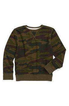Peek 'Camo' Sweatshirt (Toddler Boys, Little Boys & Big Boys) available at #Nordstrom