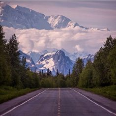 Beautiful Alaska. Denali National Park. Would love to visit. I actually got to see this in person, and the picture does not do it justice. Denali highway which is about 150 miles long, has some of the most breathtaking views from the top. Nothing in the world could be more beautiful!!!!!!!