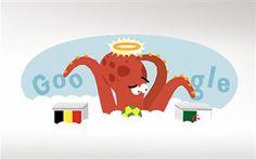 Αφιερωμένο στο χταπόδι Πολ το doodle της Google -  Ο διαδικτυακός κολοσσός θυμήθηκε τις προβλέψεις του Πολ στο Μουντιάλ της Νοτίου Αφρικής Ο Πολ το χταπόδι από το Μουντιάλ της Νοτίου Αφρικής με φωτοστέφανο φιγουράρει στο σημερινό doodle της Google. Γ ια την Τρίτη 17 Ιουνίου, δη