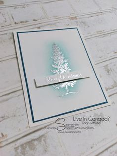 Lovely as a Tree: SU!, SuNN Stampin'