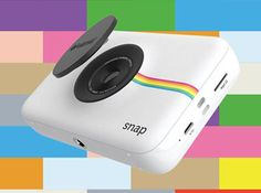 The Polaroid Snap is a digital camera that can instantly print out a pic –without ink!