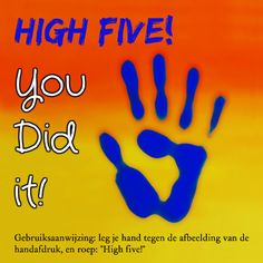 High five! Ik overwon mijn diepe depressie!!!!!! Angel hielp mij daarbij. Proud Of You Quotes, Good Wishes Quotes, Wish Quotes, Happy Name Day, Congratulations Quotes, High Five, Good Night Gif, Good Morning Quotes, Kids Cards
