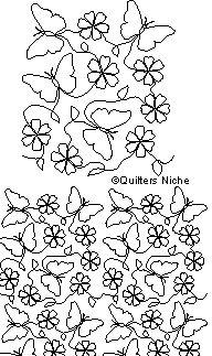 AN-035 Butterflies and Flowers