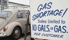 1970's Gas Rationing... Remember folks buying gas caps with locks for their vehicles in the late 1970's?