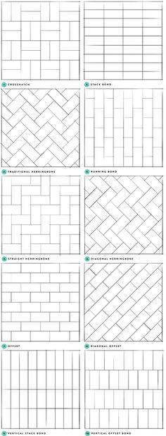 Kitchen backsplash tile or shower tile pattern ideas. Kitchen backsplash tile or shower tile pattern ideas. Bad Inspiration, Bathroom Inspiration, Bathroom Ideas, Bathroom Designs, Bathroom Organization, Bath Tub Tile Ideas, Bathtub Ideas, Bathroom Tile Designs, Shower Designs