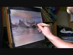 Learn How to Paint Mountains in Watercolor #2