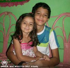 Son mis hijos, ellos serian lo que me llevara   - Gilda Rosas from Venezuela   - Visit 1family: http://www.unhcr.org/1family