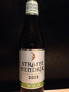 Straffe Hendrik - Brugs Tripel bier - 2015 - wild. 33cl, 9%. Brouwerij de Halve Maan, Brugge. www.straffehendrik.be