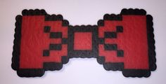 Red 8-bit bow tie - available on therubypig.com