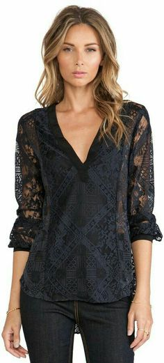 Love this lace top