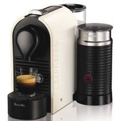 Breville Coffee Machine Nespresso U Milk Pure White
