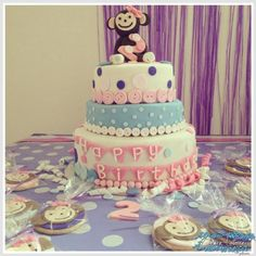 #torta de #cumpleaños de niña