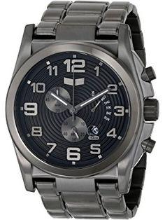 """Vestal Men's DEV012 """"De Novo"""" Stainless Steel Watch ❤ Vestal"""
