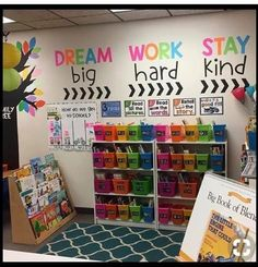 How cute is Melanie's classroom library? Perfect to cozy up with a good pic… – Zoe How cute is Melanie's classroom library? Perfect to cozy up with a good pic… How cute is Melanie's classroom library? Perfect to cozy up with a good picture book! Classroom Quotes, Classroom Walls, New Classroom, Classroom Design, Classroom Wall Decor, Year 3 Classroom Ideas, Classroom Setting, Preschool Classroom Decor, Bulletin Board Ideas For Teachers