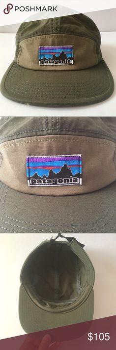 826bcc817b0 Patagonia Retro Fitz Roy 5-Panel Tradesmith Cap Patagonia Retro Fitz Roy  Label 5-