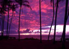 Kapaa Kauai Sunrise Photograph  - Kapaa Kauai Sunrise Fine Art Print