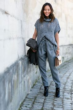 The 6 Street Style Trends That Reigned at Paris Fashion Week Street Style Trends, Autumn Street Style, Street Style Looks, Fashion Weeks, Aimee Song, Cool Street Fashion, Paris Fashion, Couture Fashion, Song Of Style