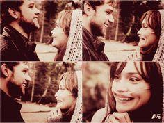 Dylemma...smiling like idiots again...true love
