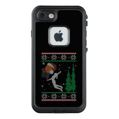 Basketball Christmas LifeProof FRĒ iPhone 7 Case - Xmas ChristmasEve Christmas Eve Christmas merry xmas family kids gifts holidays Santa
