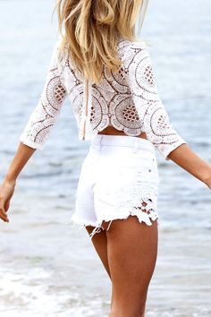 #summer #fashion / crochet pattern outfit