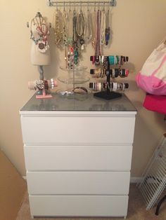 Ikea Furniture Malm 4 Drawer Dresser Women Cave/Dressing Room :)