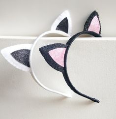 Cat ears Cat ears headband Cat costume by Graciosa on Etsy