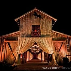 The Carriage House in Tennessee has held some of the most incredible barn weddings of all time.   by Waldorf Photographic Art,