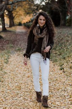 The Tailored Olive- Chenille sweater Velvet Sweater, Fashion Photo, Ugg Boots, White Jeans, Uggs, Personal Style, Winter Fashion, My Style, Womens Fashion