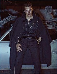 Nolan Gerard Funk Covers Dress to Kill Men, Stuns in Winter Fashions