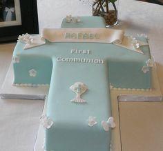 tortas de comunion para varones con iglesias - Buscar con Google