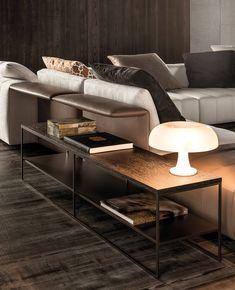 Coffee table CALDER BRONZE SIDE TABLES Calder Bronze Collection by Minotti design Rodolfo Dordoni