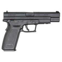 Springfield XD Tactical .45 ACP with 5-inch barrel and 13-round magazine
