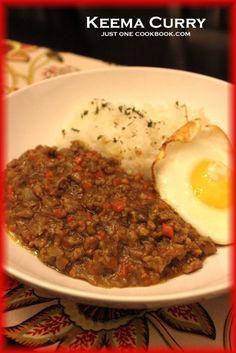 Recipe: Keema Curry キーマカレー (ground pork)
